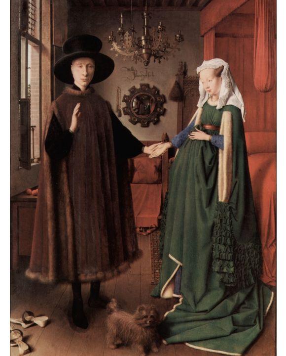 Lais Puzzle - Jan van Eyck - Arnolfini-Hochzeit, Hochzeitsbild des Giovanni Arnolfini und Giovanna Cenami - 1.000 Teile