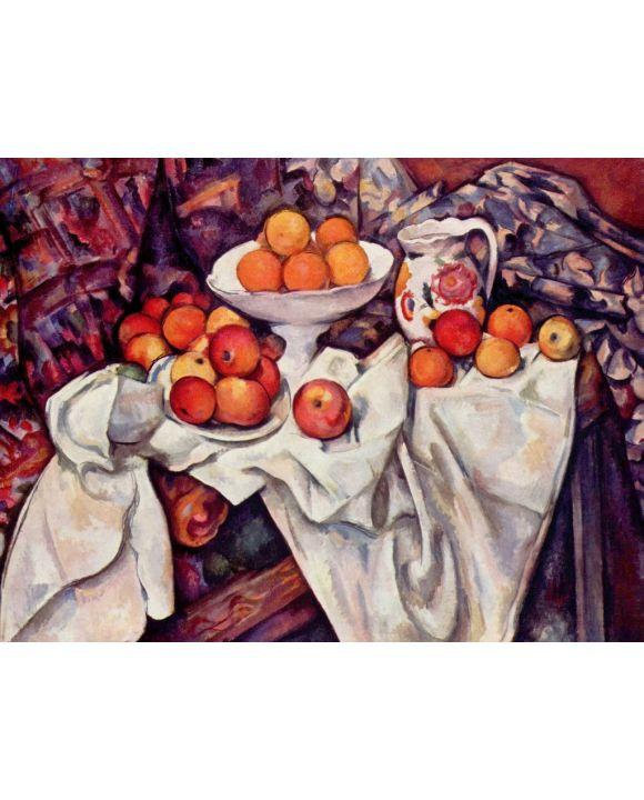 Lais Puzzle - Paul Cézanne - Stilleben mit Äpfeln und Orangen - 1.000 Teile