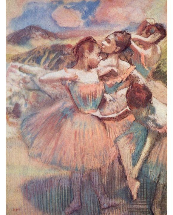 Lais Puzzle - Edgar Germain Hilaire Degas - Tänzerinnen in einer Landschaft - 1.000 Teile