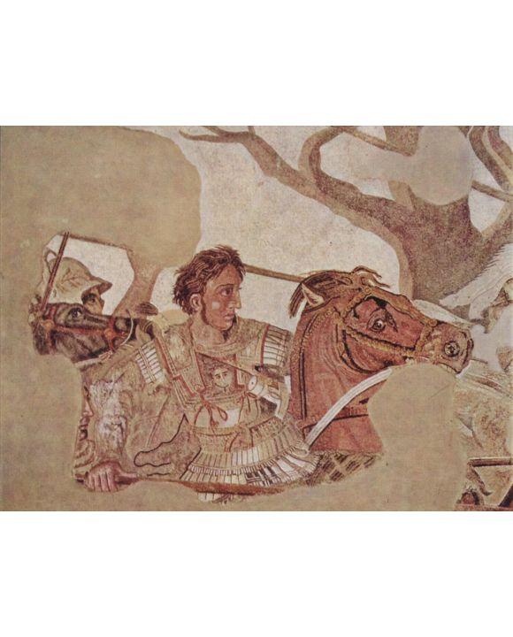 Lais Puzzle - Meister der Alexanderschlacht - Alexanderschlacht, Detail: Alexander der Große - 1.000 Teile