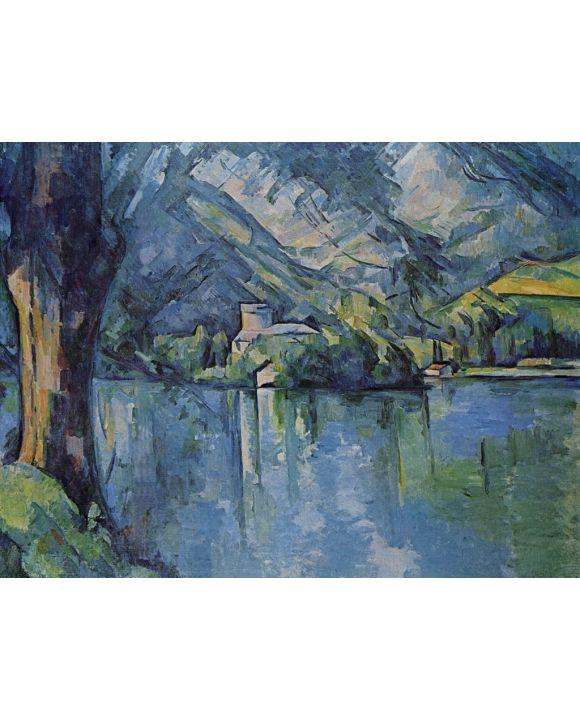 Lais Puzzle - Paul Cézanne - See von Annecy - 1.000 Teile