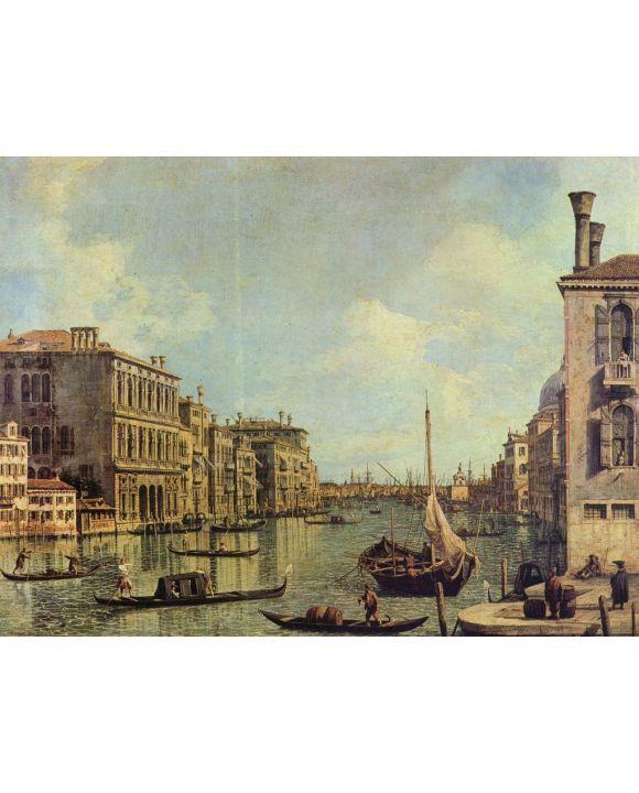 Lais Puzzle - Canaletto (II) - Veduta del Canale Grande in Richtung auf den Hafen von San Marco - 1.000 Teile