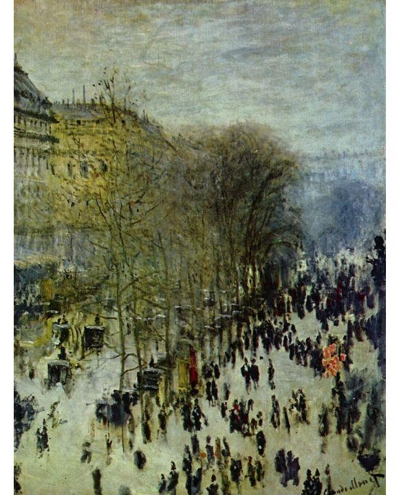 Lais Puzzle - Claude Monet - Boulevard des Capucines - 1.000 Teile
