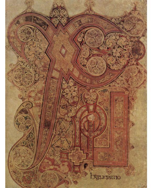 Lais Puzzle - Meister des Book of Kells - Book of Kells, Szene: Christusmonogramm, Initiale - 1.000 Teile