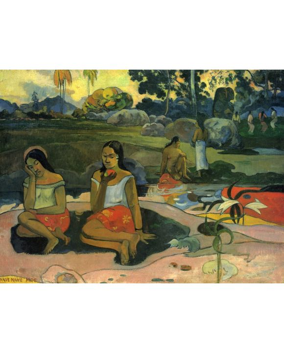 Lais Puzzle - Paul Gauguin - Herrliches Geheimnis (Nave nave moe) - 1.000 Teile