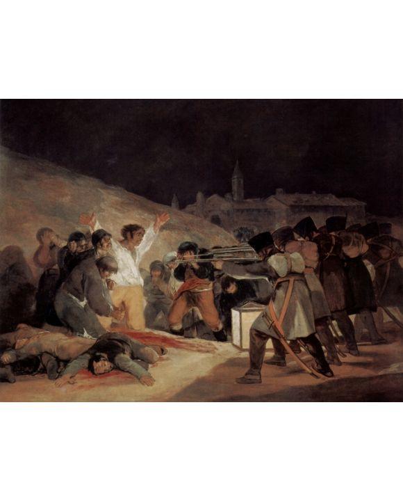 Lais Puzzle - Francisco de Goya y Lucientes - Erschießung der Aufständischen am 3. Mai 1808 in Madrid - 1.000 Teile
