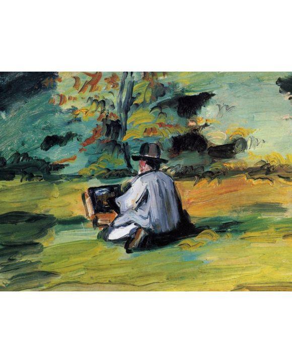 Lais Puzzle - Paul Cézanne - Ein Maler bei der Arbeit - 2.000 Teile