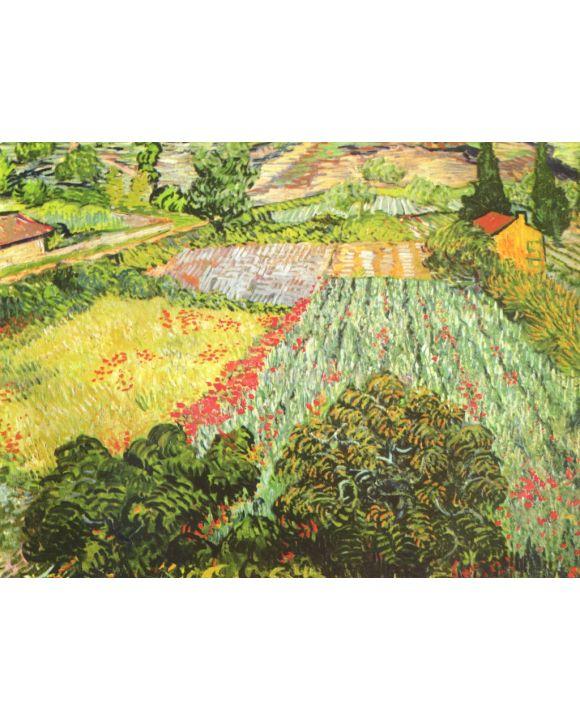 Lais Puzzle - Vincent Willem van Gogh - Das Mohnblumenfeld - 1.000 Teile