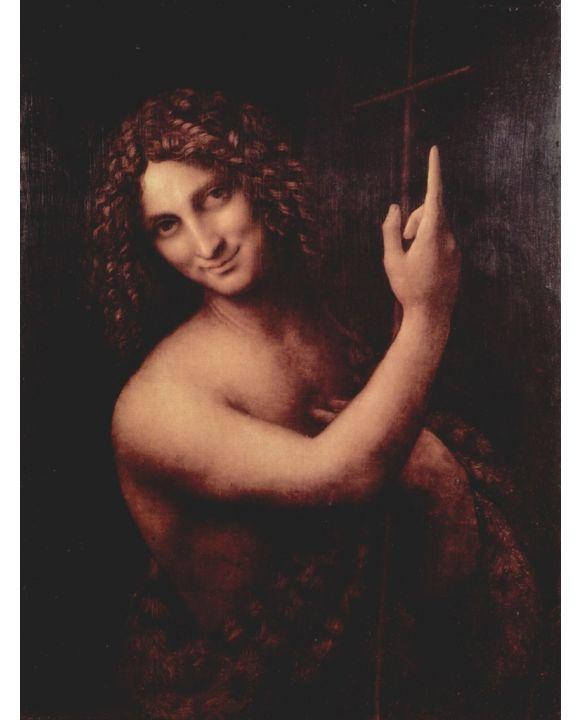 Lais Puzzle - Leonardo da Vinci - Hl. Johannes der Täufer - 2.000 Teile