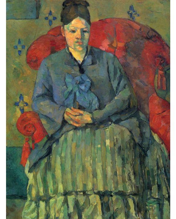 Lais Puzzle - Paul Cézanne - Porträt der Mme Cézanne in rotem Lehnstuhl - 1.000 Teile
