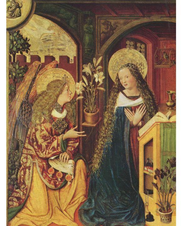 Lais Puzzle - Bayerischer Meister - Verkündigung an Maria - 1.000 Teile