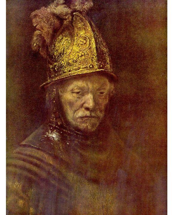 Lais Puzzle - Rembrandt (Schule) - Der Mann mit dem Goldhelm - 1.000 Teile