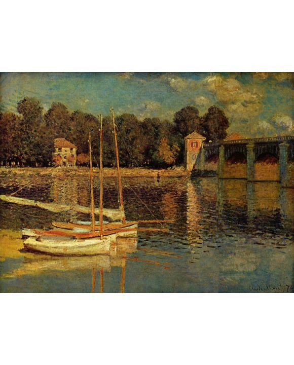 Lais Puzzle - Claude Monet - Brücke von Argenteuil - 1.000 Teile