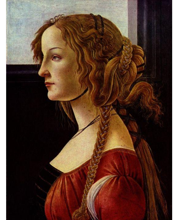Lais Puzzle - Sandro Botticelli - Porträt der Simonetta Vespucci - 1.000 Teile