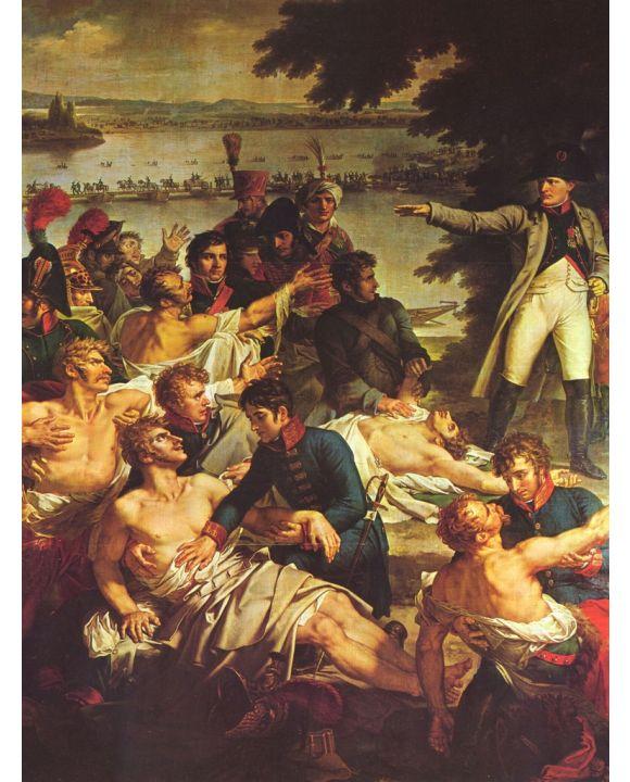 Lais Puzzle - Charles Meynier - Napoleons Rückkehr auf die Insel Lobau am 23. Mai 1809, Detail - 1.000 Teile