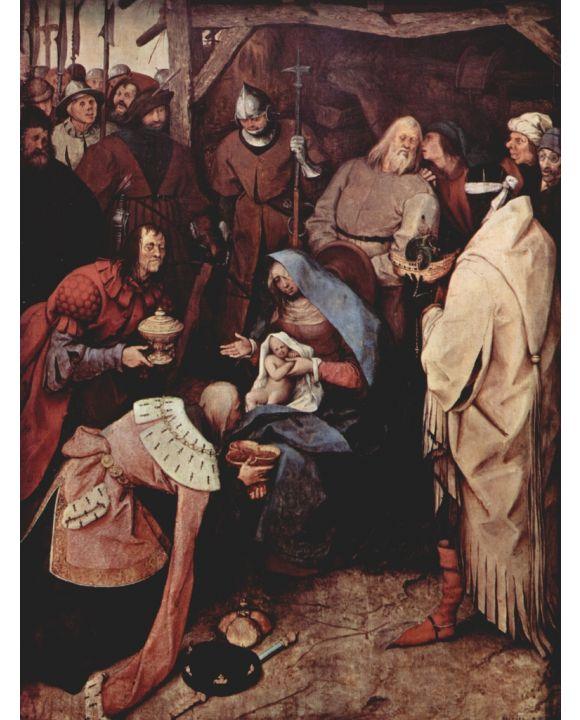 Lais Puzzle - Pieter Bruegel d. Ä. - Anbetung der Heiligen Drei Könige - 500 & 1.000 Teile