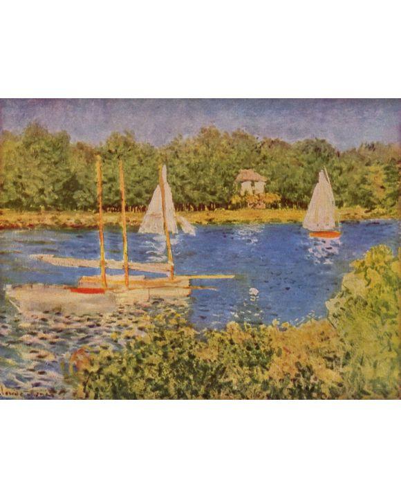 Lais Puzzle - Claude Monet - Das Seinebecken bei Argenteuil - 1.000 Teile