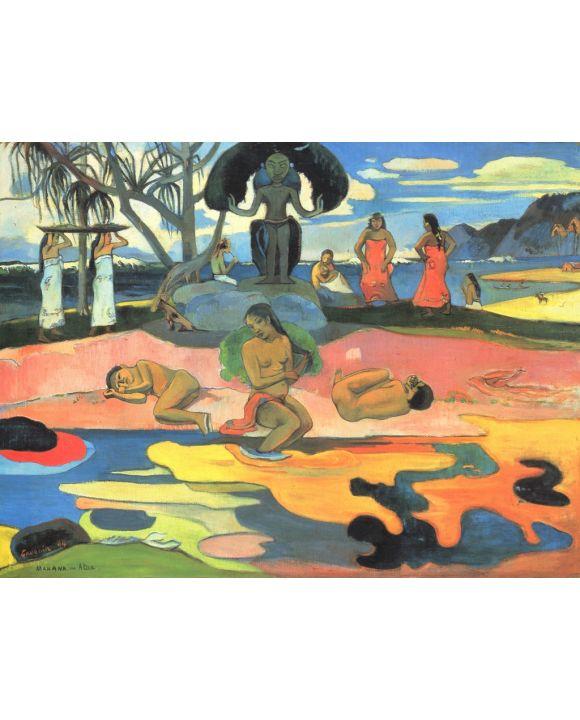 Lais Puzzle - Paul Gauguin - Sonntag (Mahana no atua) - 500 & 1.000 Teile