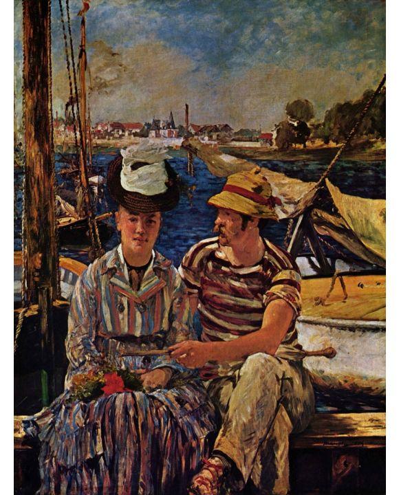 Lais Puzzle - Edouard Manet - Argenteuil - 500 & 1.000 Teile