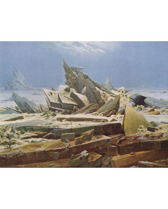 Lais Puzzle - Caspar David Friedrich - Das Eismeer (Die verunglückte Nordpolexpedition, Die verunglückte Hoffnung) - 1.000 Teile