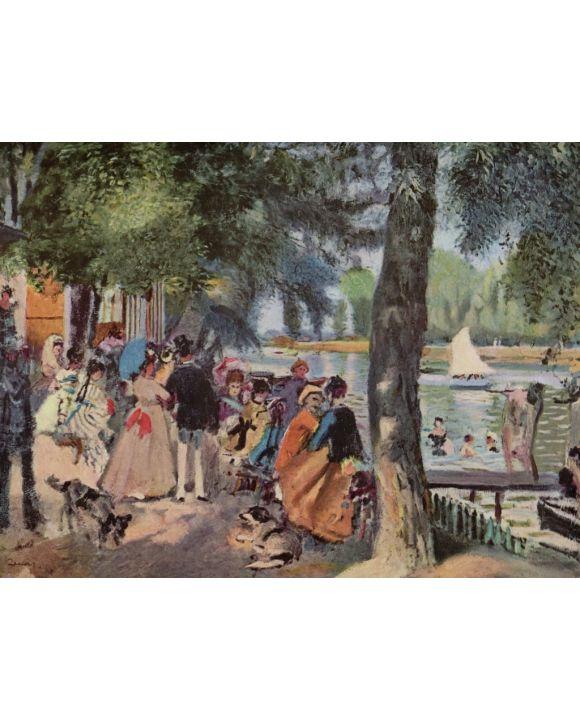 Lais Puzzle - Pierre-Auguste Renoir - La Grenouillère - 1.000 Teile