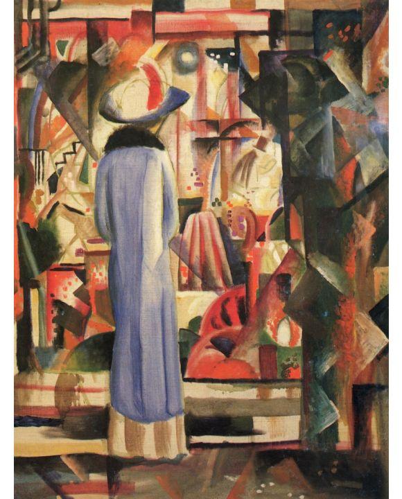 Lais Puzzle - August Macke - Großes helles Schaufenster - 1.000 Teile