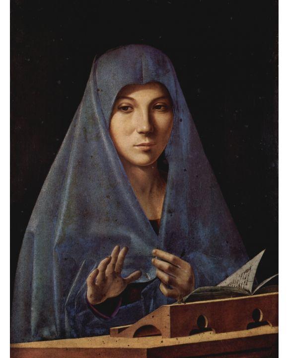 Lais Puzzle - Antonello da Messina - Maria der Verkündigung - 1.000 Teile