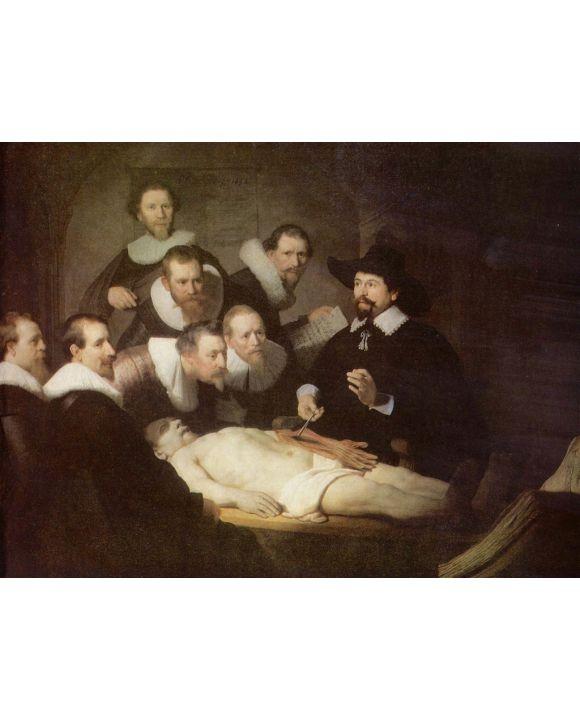 Lais Puzzle - Rembrandt Harmensz. van Rijn - Anatomie des Dr. Tulp - 500 & 1.000 Teile