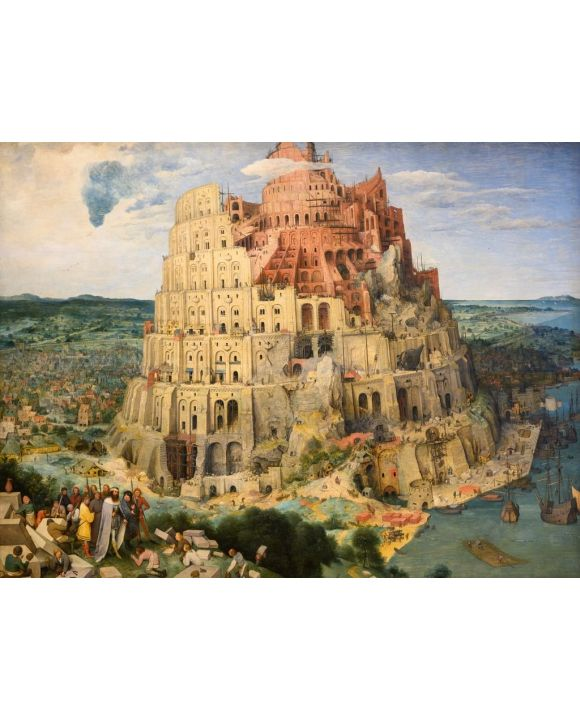 Lais Puzzle - Pieter Bruegel d. Ä. - Turmbau zu Babel - 1.000 Teile