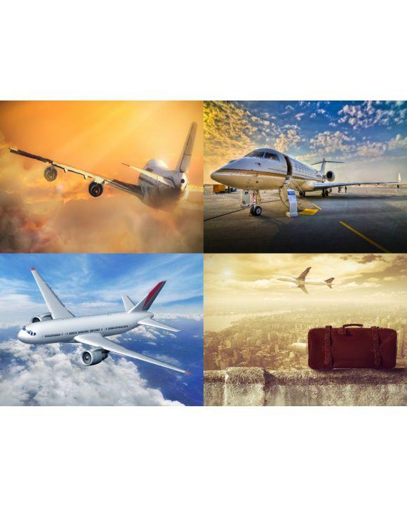 Lais Puzzle - Collage Flugzeuge - 500, 1.000 & 2.000 Teile