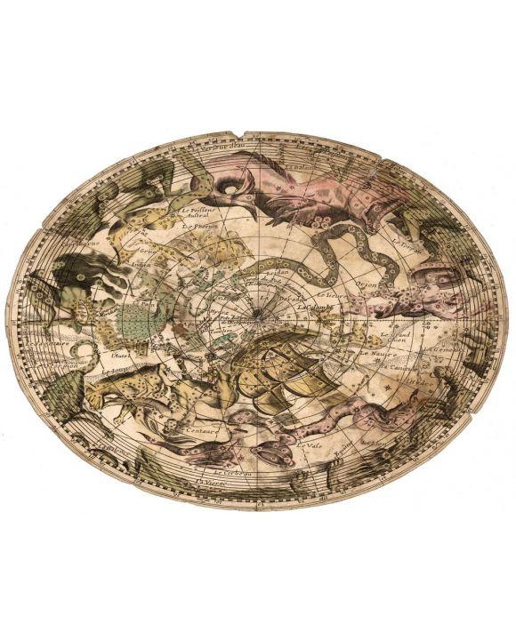 Lais Puzzle - Matthäus Seutter Landkarte - Atlas Novas Indicibus Instructus (1744) - Sternenhimmel - Motivserie - 100, 200, 500, 1.000 & 2.000 Teile