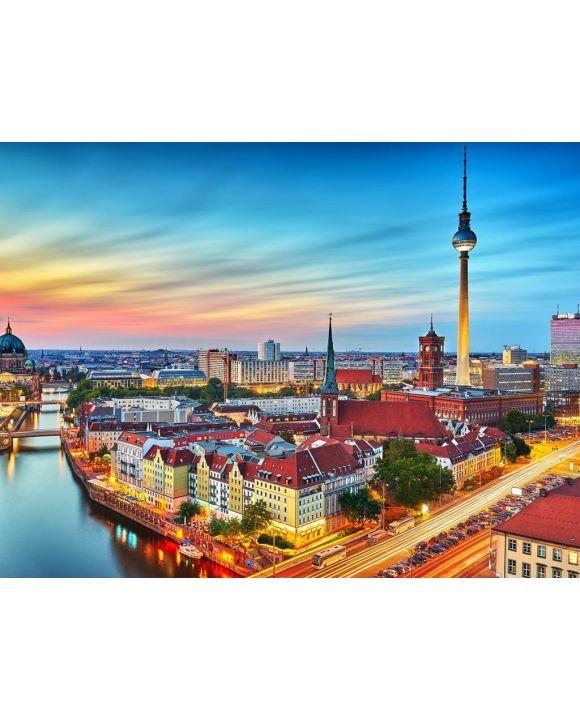 Lais Puzzle - Skyline von Berlin - 100, 200, 500, 1.000 & 2.000 Teile