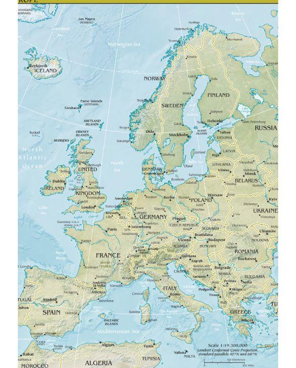 Lais Puzzle - Landkarte Europa - 500 & 1.000 Teile