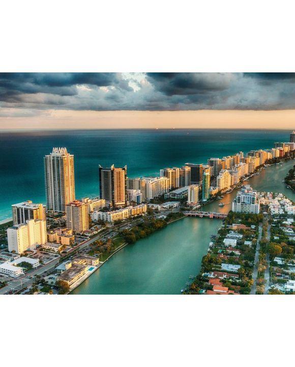 Lais Puzzle - Miami Beach Florida USA Skyline - 100, 200, 500, 1.000 & 2.000 Teile