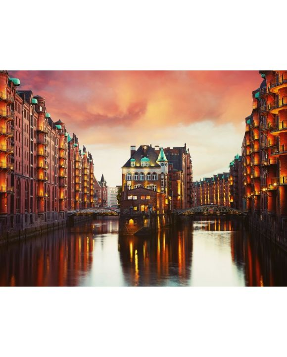 Lais Puzzle - Hamburg Speicherstadt - 100, 200, 500, 1.000 & 2.000 Teile