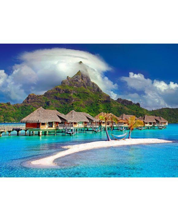 Lais Puzzle - Bora Bora Insel - 1.000 Teile