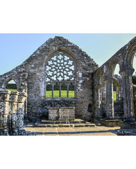 Lais Puzzle - Ruine einer Kapelle in Plovan in der Bretagne - 500 & 1.000 Teile
