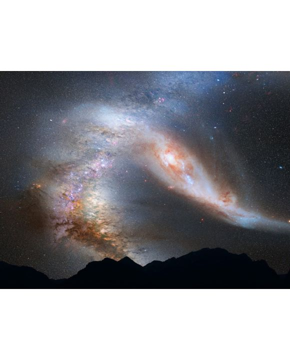Lais Puzzle - Andromeda Galaxie Milchstraße - 100, 200, 500, 1.000 & 2.000 Teile