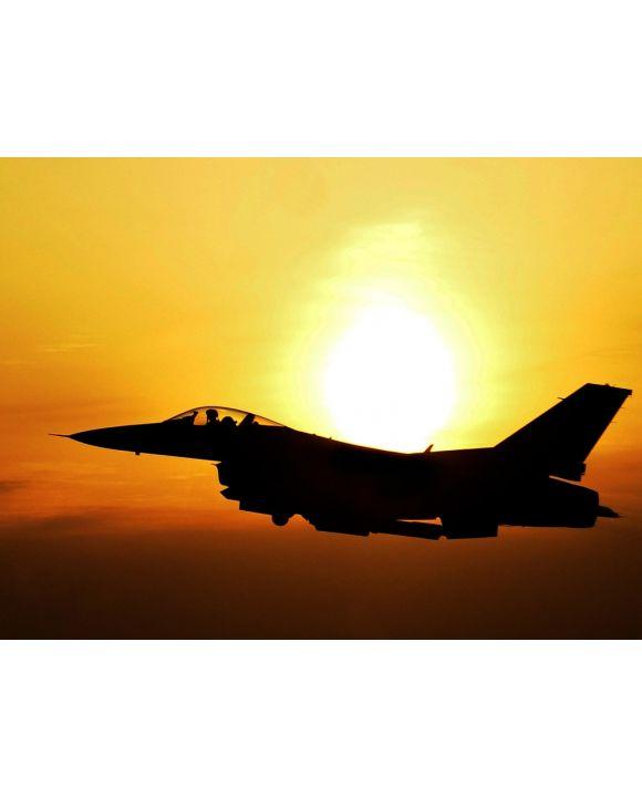 Lais Puzzle - Flugzeug im Sonnenaufgang - 1.000 Teile