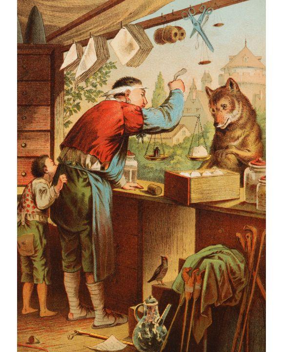 Lais Puzzle - Der Wolf und die sieben Geißlein - 100 & 200 Teile