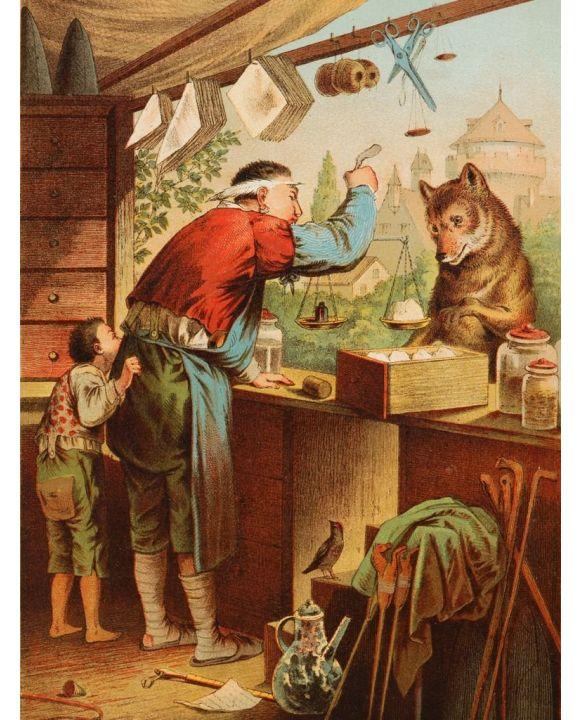 Lais Puzzle - Der Wolf und die sieben Geißlein - 100, 200, 500, 1.000 & 2.000 Teile