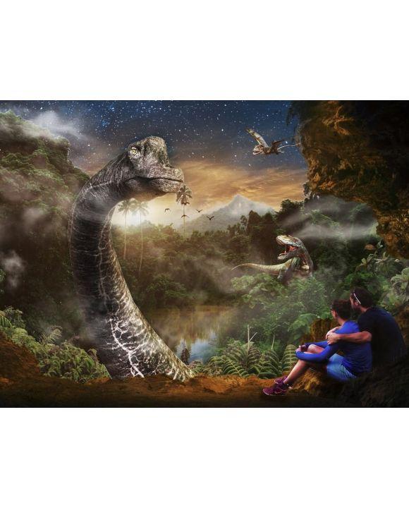 Lais Puzzle - Menschen beobachten Dinosaurier - 100, 200, 500, 1.000 & 2.000 Teile