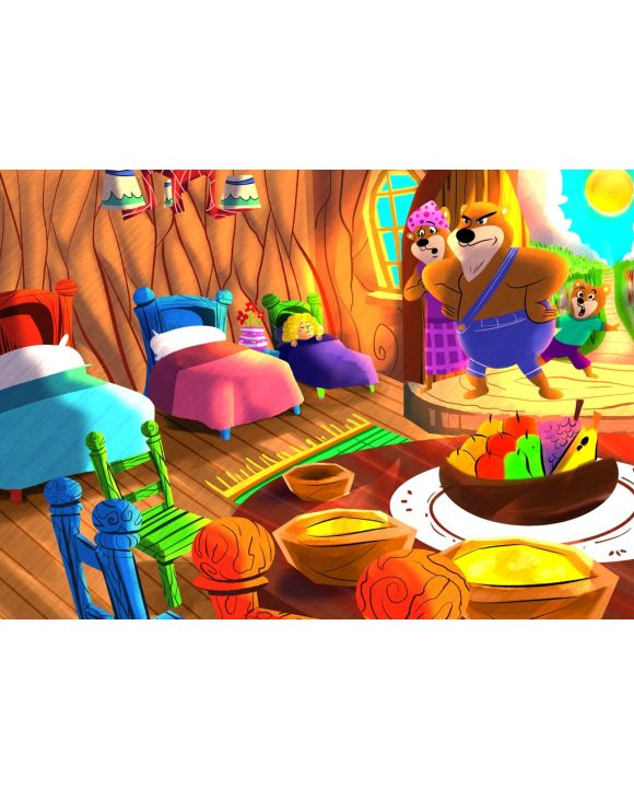 Lais Puzzle - Goldlöckchen und die drei Bären - 100 & 200 Teile