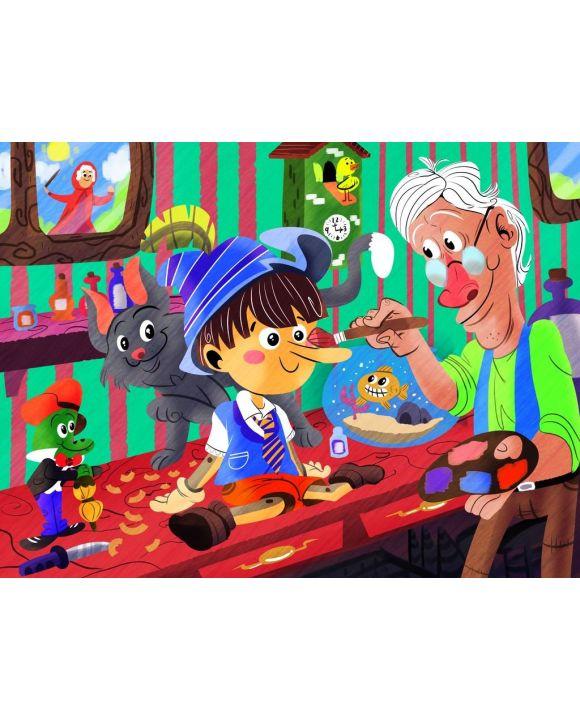 Lais Puzzle - Pinocchio - 100, 200, 500, 1.000 & 2.000 Teile