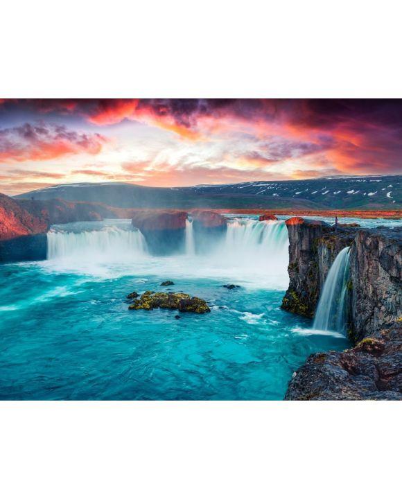 Lais Puzzle - Godafoss Wasserfall - 100, 200, 500, 1.000 & 2.000 Teile