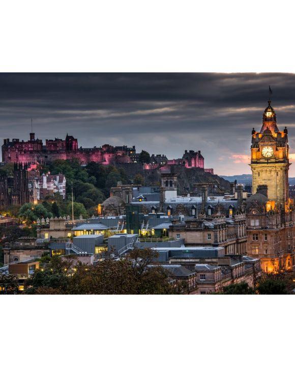 Lais Puzzle - Edinburgh Castle - 100, 200, 500, 1.000 & 2.000 Teile