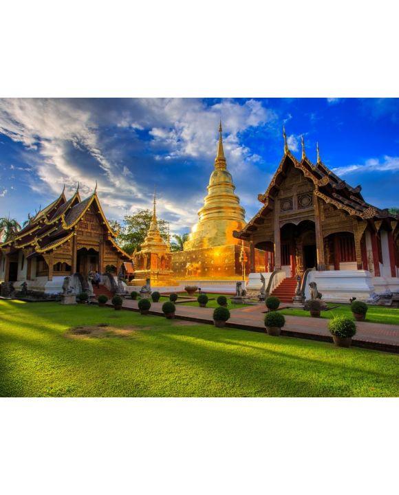 Lais Puzzle - Thailändischer Tempel - 100, 200, 500, 1.000 & 2.000 Teile