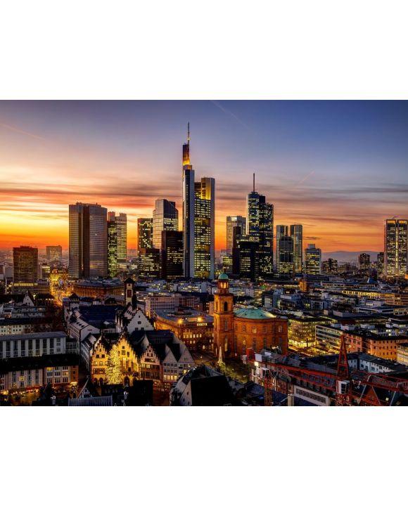 Lais Puzzle - Frankfurt am Main bei Nacht - 100, 200, 500, 1.000 & 2.000 Teile