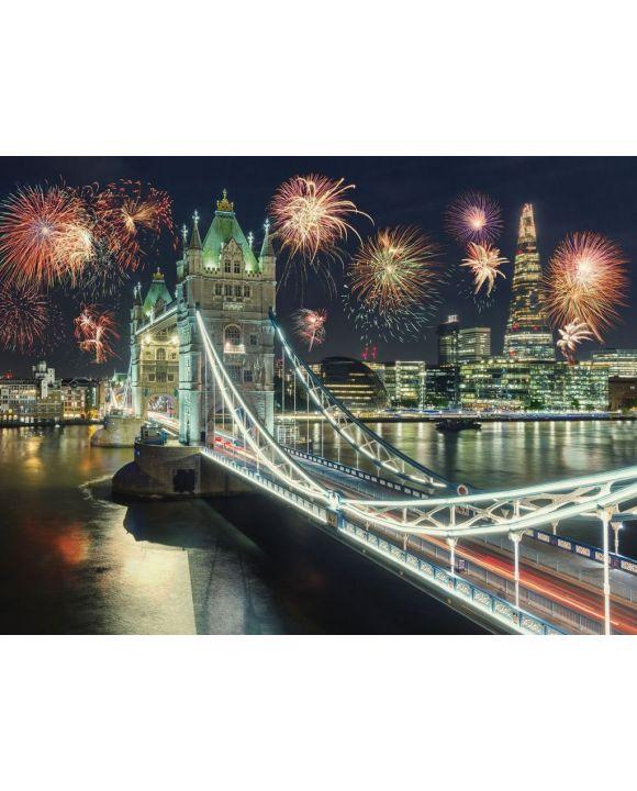 Lais Puzzle - Feuerwerk an der Tower Bridge in London - 100, 200, 500, 1.000 & 2.000 Teile