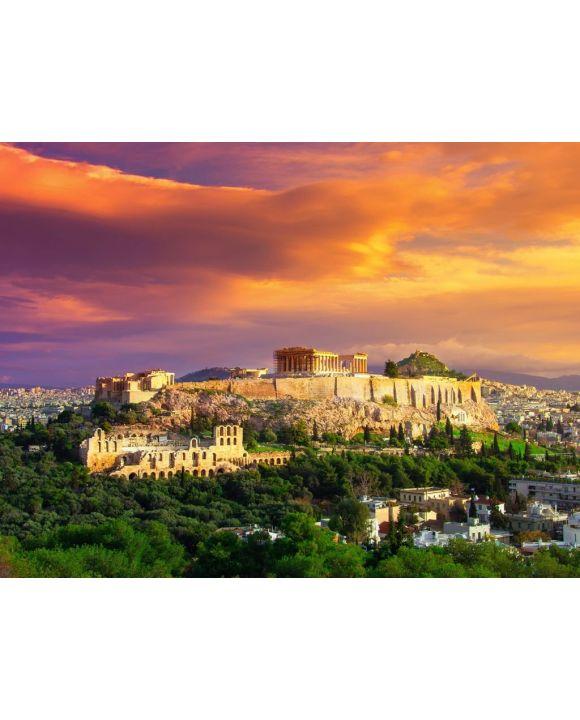 Lais Puzzle - Akropolis mit Parthenon in Athen - 100, 200, 500, 1.000 & 2.000 Teile